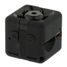 SQ11 мини-камера размера 1080P HD для домашней школьной конференции портативная Внутренняя/уличная видеокамера с углом обзора 140 градусов