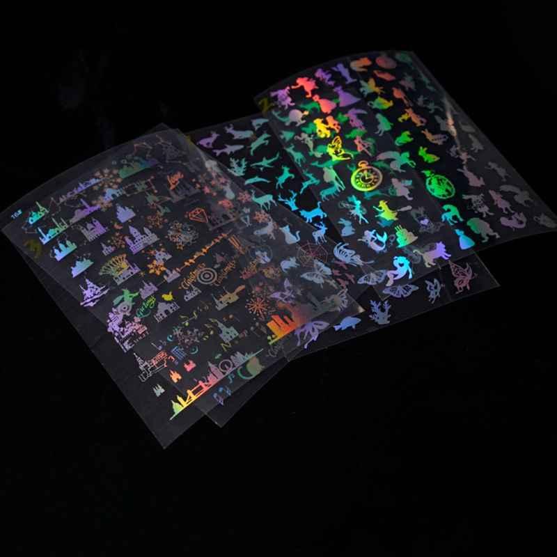 Resin Kerajinan Kristal Epoxy Cetakan Filler DIY Buatan Tangan Stiker Transparan Perhiasan Membuat Mengisi Bahan