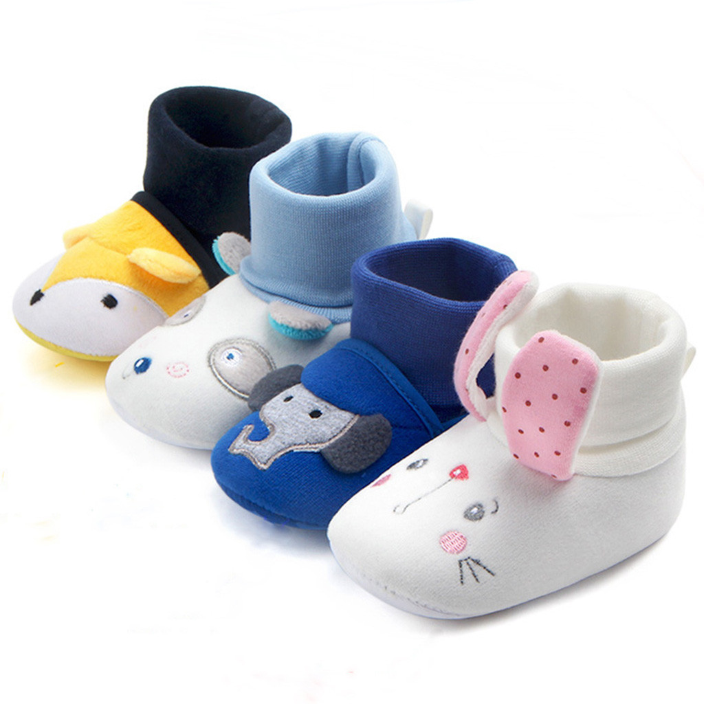 Baby Girls Autumn Summer Floral Bowknot Soft Sole Shoes First Walker Luxury