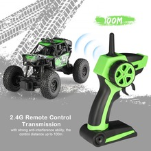 S-003 1/22 2.4G 2CH 2WD High Speed Remote Control RC Off-Road Climbing Crawler Rally Car Truck Vehicle for Children Kids Gift.