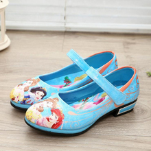 Buy Halloween Princess Snow White Shoes Children Girl Sweet Shoes Birthday Party Gift directly from merchant!