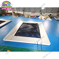 Yacht Slide Water Pools Inflatable Sea Swimming Pool For Jellyfish Protection