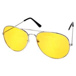 Image 2 - ראיית לילה עדשה צהובה משקפי קריאת זכוכית מגדלת עבור נשים גברים בחדות גבוהה Presbyopic טייס נהיגה משקפי שמש + 1.0 ~ + 4 n5