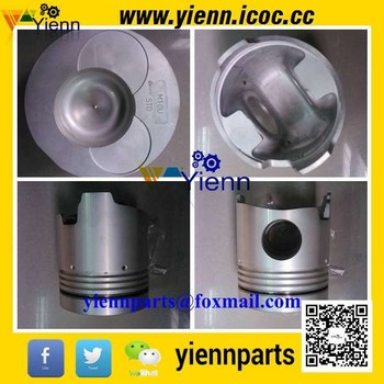 For HINO M10U Piston With Piston Ring Set Bore Size 127mm For HINO Truck And Bus M10U Diesel Engine Repair Rarts