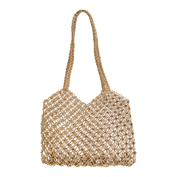 Straw Handbags For Women Beach Mesh Bag Swimming Eco Shopping Bag Grocery Tote Fold Over Casual Female Handbag Lady Girls Casual 1