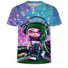 2021Men's 3DT Shirt Disco Dj Rock Men's Party Music Sound Activation Led T-shirt Up and Down Punk Flashing Equalizer Men's Tshir