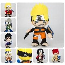 цена на 20cm Anime Naruto Uzumaki Naruto/Uchiha Sasuke/Gaara/Hatake Kakashi Plush Doll Stuffed Toys Soft Toy for Children Kids Gifts