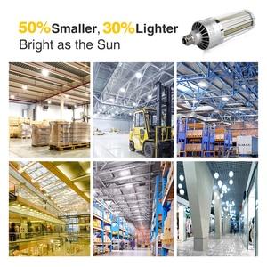 Image 5 - 슈퍼 밝은 LED E27 옥수수 전구 25W 200W LED 램프 110V 220V 스마트 IC E39 E40 야외 놀이터 창 고 조명에 대 한 큰 전원