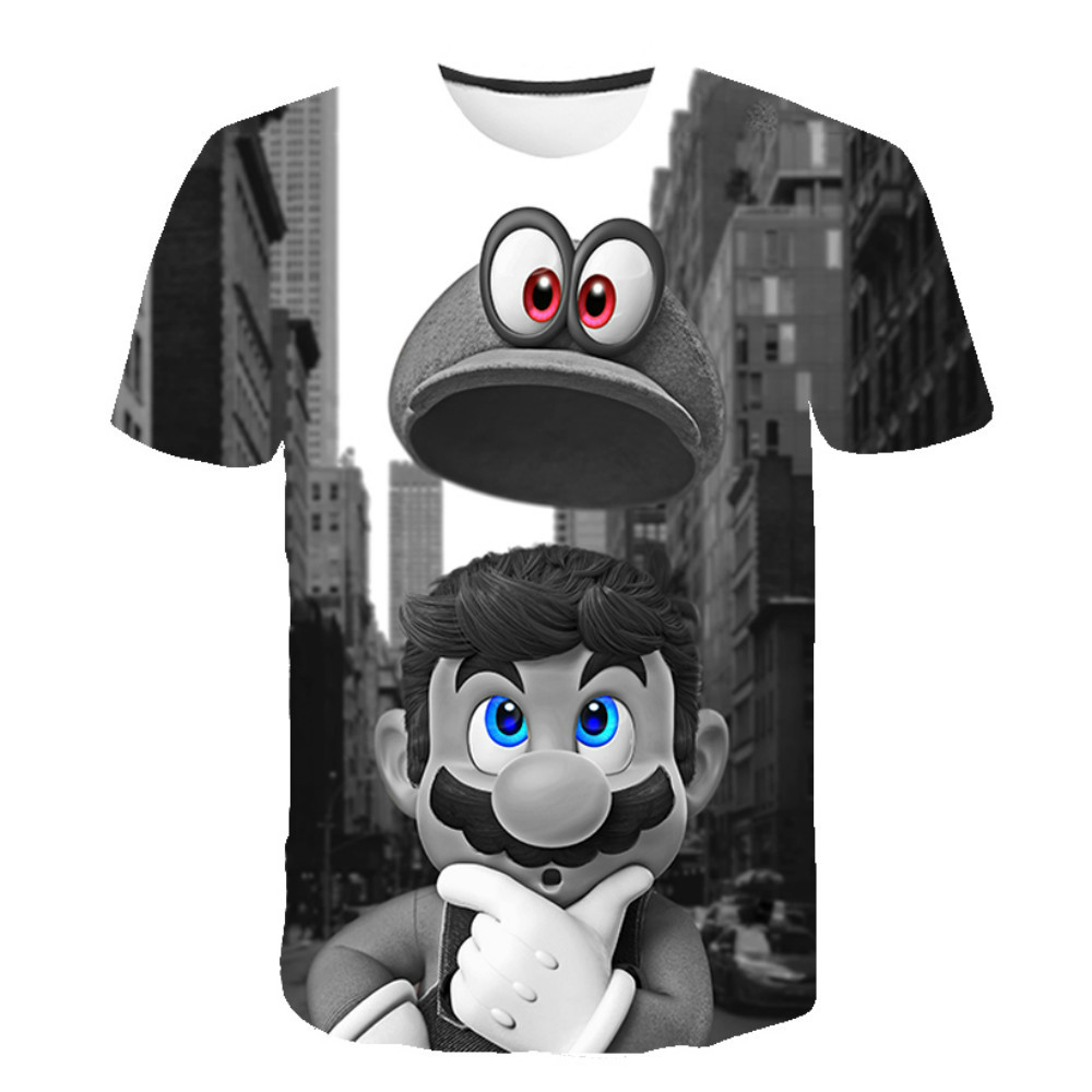 3D Printed T-Shirts For Men And Women, Fashionable And Lnteresting Short-Sleeved Clothing