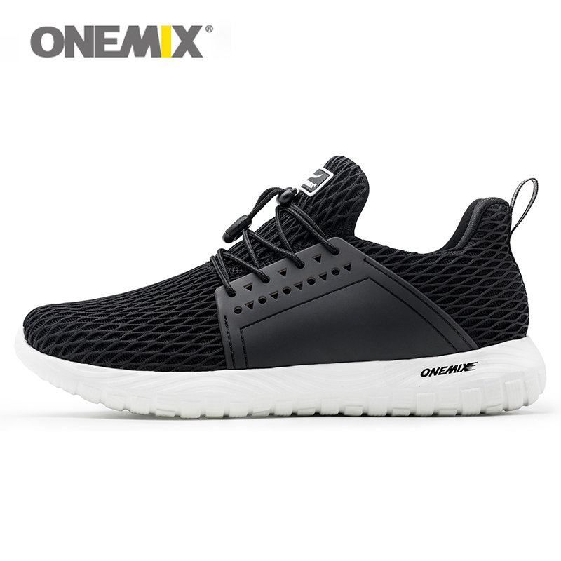 ONEMIX Men Lightweight Casual Shoes Women Running Sneakers Breathable Outdoor Trainers 2019 Tennis Shoes