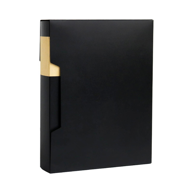 A4 Display Book 80/100 Pages Transparent Insert File Folder Document Storage Bag Office School Supplies Stationery