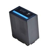 1Pc VW VBG6 VWVBG6 Battery with LED Power Indicatoor for Panasonic AG AC7,AG AC160A,AG AF100,AG 130,AG HMC154ER HMC154GK