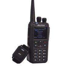 هام راديو Anytone AT D878UV زائد الرقمية DMR و التناظرية UHF/VHF ثنائي النطاق بلوتوث PTT لاسلكي تخاطب لتحديد المواقع APRS راديو مع كابل الكمبيوتر