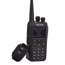 ham radio Anytone AT D878UV Plus digital DMR & Analog UHF/VHF Dual band Bluetooth PTT walkie talkie GPS APRS Radio with PC cable