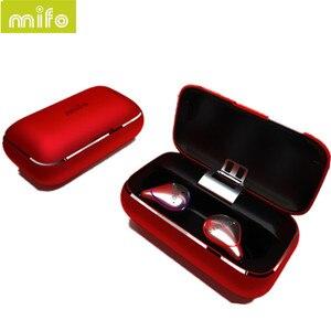 Image 2 - MIFO O5 In Ear słuchawki HIFI oryginalne słuchawki bezprzewodowe Bluetooth 5.0 zestaw słuchawkowy obustronne Mini wodoodporne słuchawki douszne O2 X1 X1E I7 I8 E12 TW100