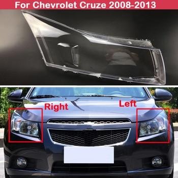 цена на Car transparent lampshades lamp shell headlight shell cover For Chevrolet Cruze 2008 2009 2010 2011 2012 2013