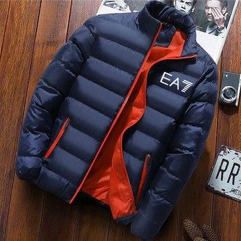 Hot Sale EA7 Brand Men's Spring And Autumn New Aviator Jacket Men And Women Casual Windbreaker Printed Zipper Thin Jacket M-4XL 1