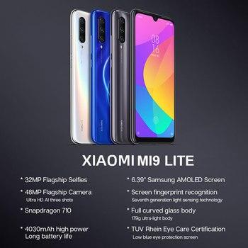 In Stock Global Version Xiaomi Mi 9 Lite 6GB 128GB 48MP Triple Camera Smartphone Snapdragon 710 Octa Core 32MP Front 4030mAh NFC 1