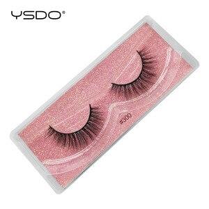 Image 4 - YSDO Ciglia 20/30/40/50/100 PCS Ciglia di Visone Allingrosso Natural False Eyelashes Extensions Trucco 3D Visone ciglia In Massa Cilios