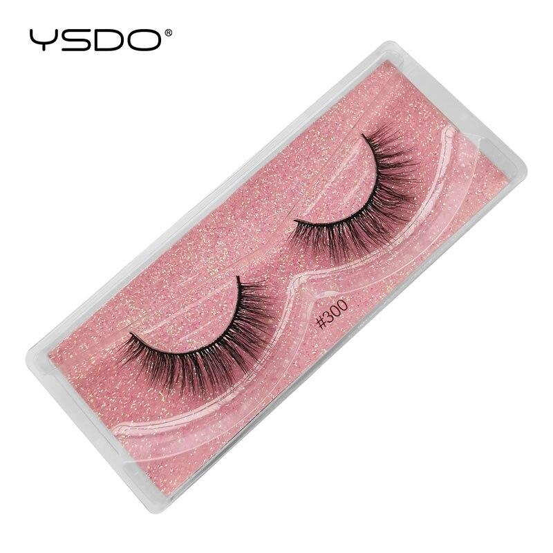 Image 4 - YSDO Lashes 20/30/40/50/100 PCS Mink Eyelashes Wholesale Natural False Eyelashes Extensions Makeup 3D Mink Lashes In Bulk CiliosFalse Eyelashes   -