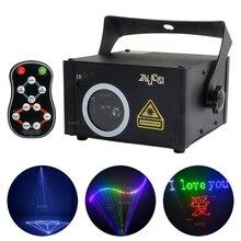 DMX512 RGB SD karta programu światło laserowe skanowanie projektor DJ scena dyskoteki efekt pokaż oświetlenie z pilotem aktywowane dźwiękiem