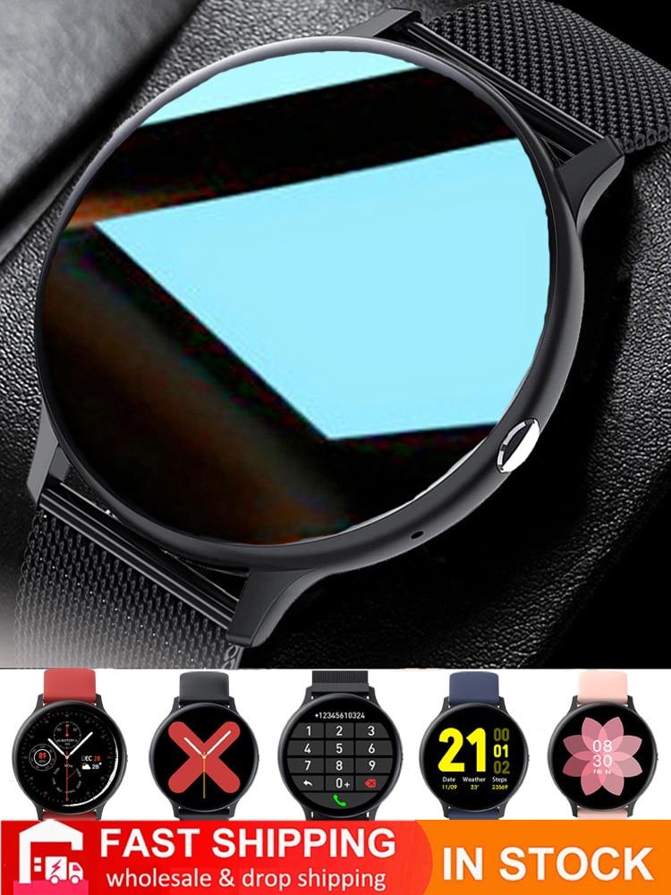 Смарт-часы для мужчин и женщин, фитнес-браслет с поддержкой Bluetooth, с сенсорным экраном 6