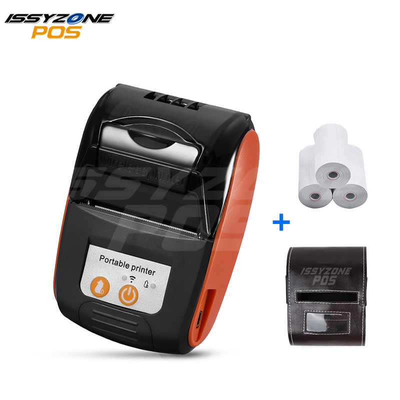 ISSYZONEPOS Android Bluetooth Drucker Mobile Wireless Mini Barcode 58mm Thermo-belegdrucker POS iOS Telefon Freies SDK Software