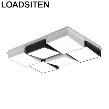 For Living Room Luminaire Colgante Moderna Lustre Plafondlamp Plafonnier Luminaria De Teto Lampara Techo Led Ceiling Light