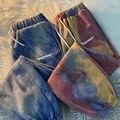 Брюки женские с завышенной талией, модные длинные спортивные штаны-джоггеры, шаровары для девушек, уличная одежда, осень-зима