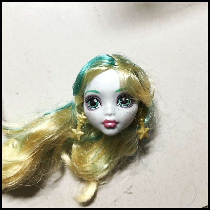 Perfect The Original Monster Doll Accessories, Very Good Quality Of DIY Makeup BJD Doll Head Girls Play Toys