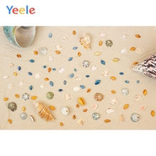 Yeele Summer Party Photocall Shells Beach Wavelets Photography Backdrops Personalized Photographic Backgrounds For Photo Studio