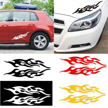 Fire Flame Car stickers 1