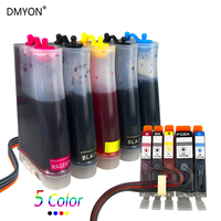 DMYON CISS for PGI650 650 Ink System CLI 651 PGI650 Compatible for Canon Pixma IP7260 MG5400 MG5460 MG5560 IP8760