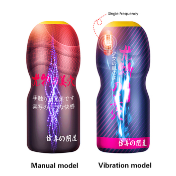 Realistic Vagina Male Masturbator Cup for Men Oral Blowjob Aircraft Cup Real Pussy Intimate Goods Deep Throat Sex Toy for Men 2