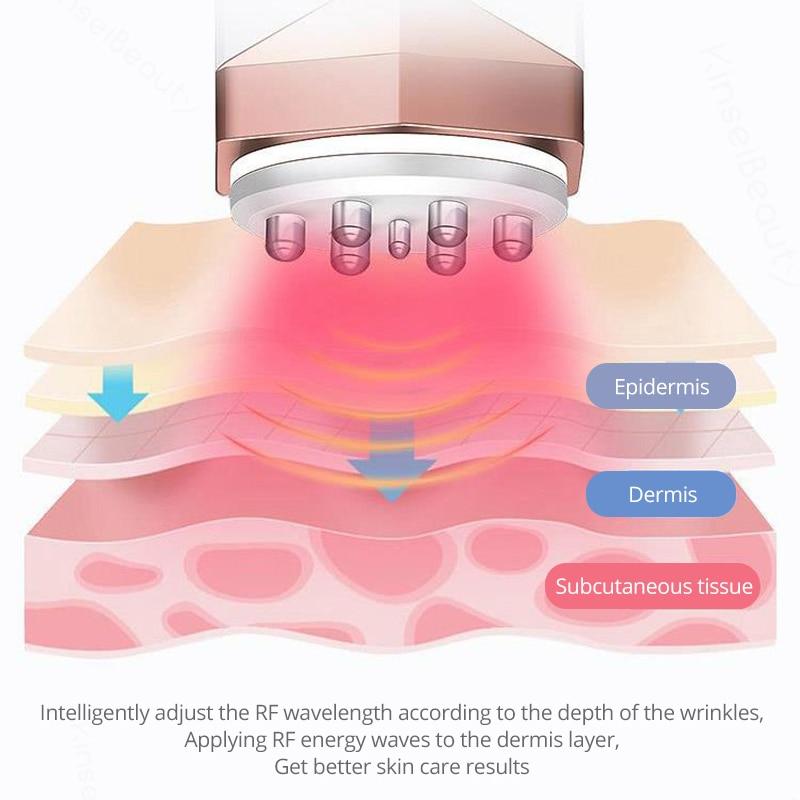 Gesichts RF Radio Frequenz Für Hebe Facelift Körper Haut Falten Entfernen Haut Anziehen Schönheit Maschine