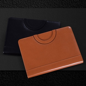 Image 2 - A4 עור מפוצל נייד קובץ תיקיית עם מחשבון רב פונקציה עסקי מסמך רפידות מנהל תיק ציוד משרדי