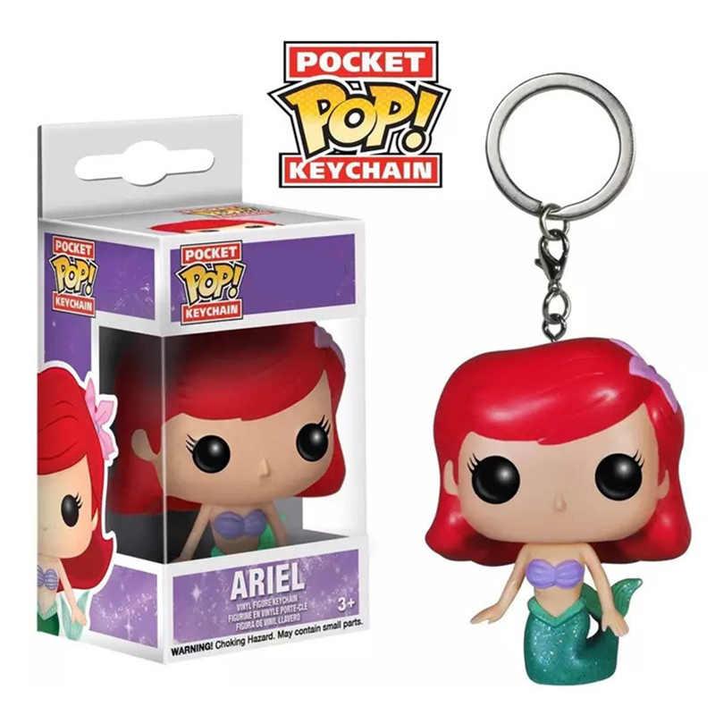 Funko pop bolso princesa chaveiro figura de ação brinquedos