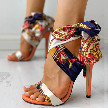 Stylish High Heels Sandals /  Sexy Stiletto Shoes 1