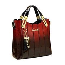 ICEV luxury handbags women bags designer brand women leather handbags panelled patent leather shoulder bag ladies evening clutch