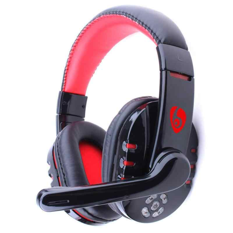V8 1 Gamer Bluetooth Headphone Headset With Mic Volume Control For Pc Laptop Phone Game Wireless Gaming Earphone Headphone Aliexpress