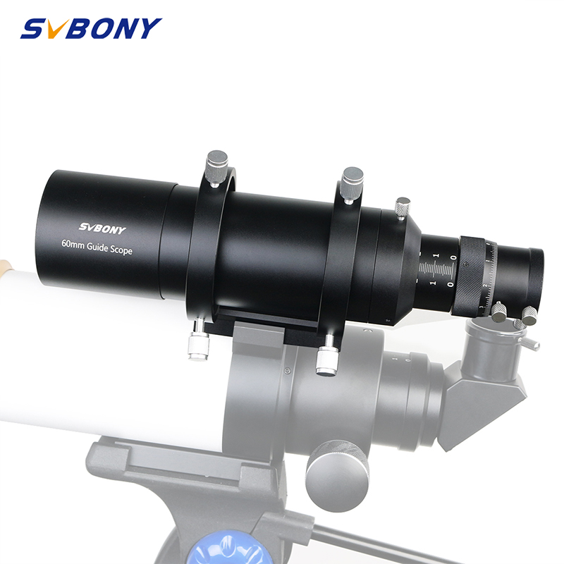 SVBONY 60mm 60240 Compact Deluxe Guide Scope Finderscope W/1.25