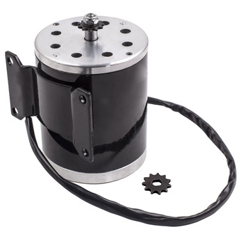 24V Electric DC Motor for Scooter, Mini bike Go-Kart Mower Using a 500W motor for E-Bike Scooter Go-kart Mower Tricycle