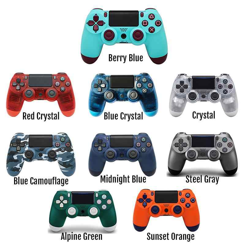 Terbaru Bluetooth 4.0 Nirkabel DualShock Gamepad Remote Controller untuk Sony PlayStation 4 PS4 Controller Joystick Gamepad
