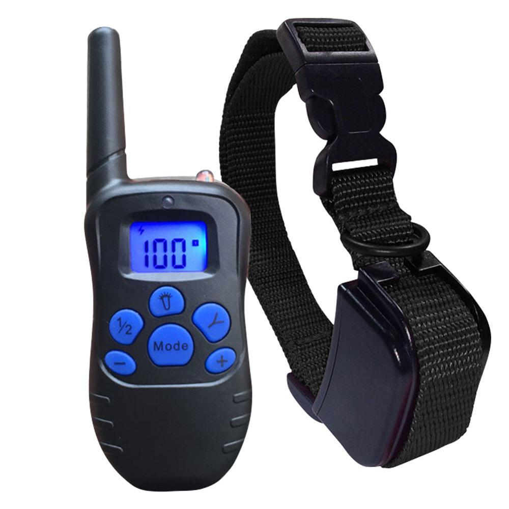 Dog Training Collar Adjustable Dog Shock Collar With Remote Beep For Small Medium Large Dog Remote Range LED Indicator