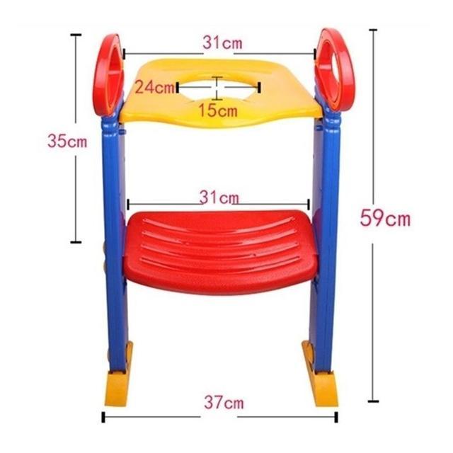 Kidlove Children Folding Toilet Ladder Baby Toilet with Pedal Adjustable Version 1