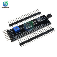 MCP23017 Serial Interface Module IIC I2C SPI MCP23S17 Bidirectional Expander Pins 1602/2004/12864 LCD Screen Display Module wholesale 2 42 green 12864 oled display module spi serial for ardui c51 stm32
