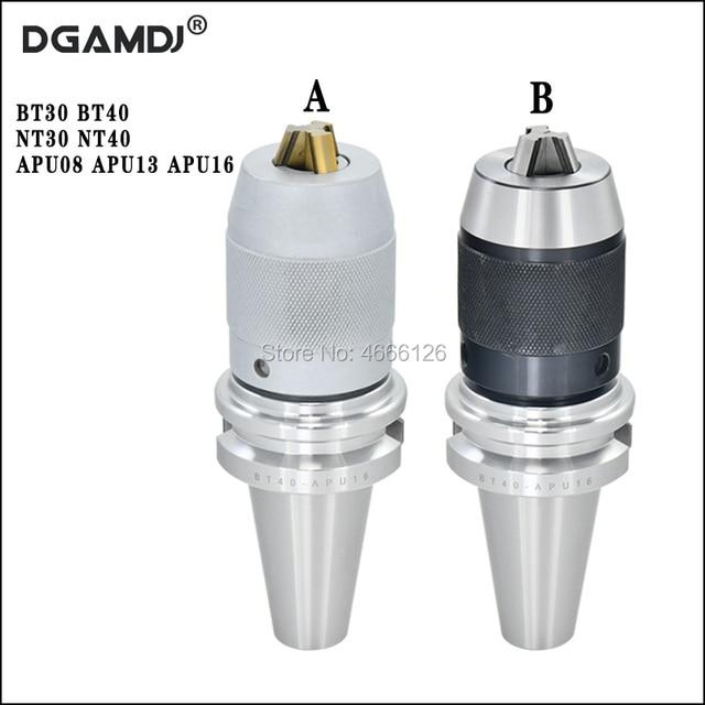 1 قطعة BT30 BT40 NT30 NT40 APU08 APU13 APU16 80L 100L 110L CNC عالي الدقة المتكاملة الذاتي تشديد الحفر تشاك