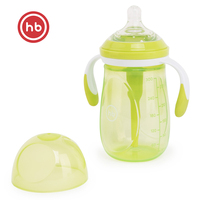 Bottles Happy Baby 10020 feeding baby food from a bottle for children LIME