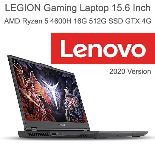 2020 Gaming Laptop Lenovo Legion R7000 Dengan Amd Ryzen 5 4600h 4800h Prosesor 15 6 Inch Fhd Backlit Typc C Rj45 Hdmi Gddr6 Gpu Laptop Aliexpress