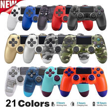 Wireless PS4 Controller Bluetooth Dual Vibration Gamepad For PS4 PS3 Laptop Desktop Computer Mobile Phone